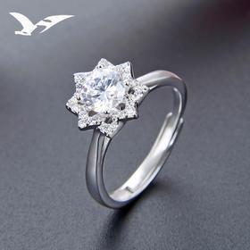 YJ-YJBJ002763新款潮流时尚s925纯银仿真钻戒TZF