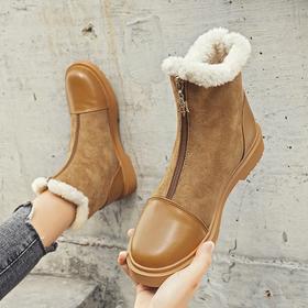 LN258新款时尚气质加绒加厚保暖雪地靴TZF