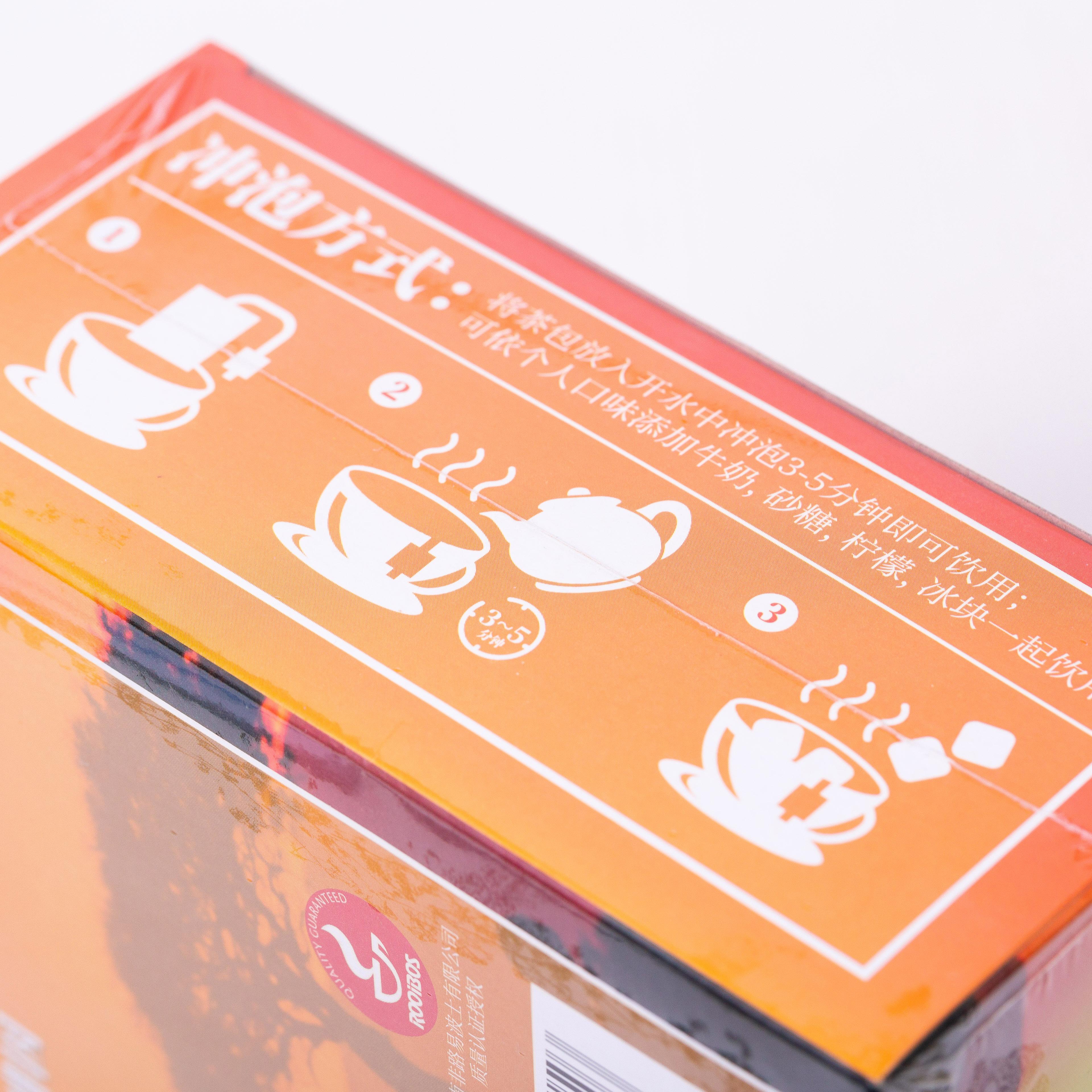 「可以喝的神仙水」开普山谷南非博士茶 Rooibos路易波士国宝红茶无咖啡因 美容养颜  0卡路里 无糖分  孕妇可喝100袋/盒 商品图10