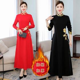XYXZY-6810中国风民族过年汉服女旗袍TZF