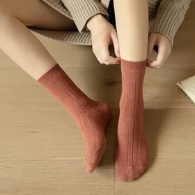 59元5双袜子【买二件立减30】丹拉迪保暖羊毛袜,天猫品质拼多多价格,买了不后悔,穿上就不想脱! 时尚文艺风,保暖防臭又好看!