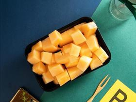 【现切】哈密瓜鲜切水果盒-300g