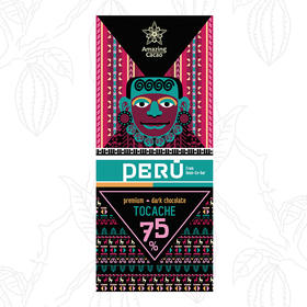 [Amazing  Cacao]秘鲁黑巧 风味精致 各具特色 40g/盒装