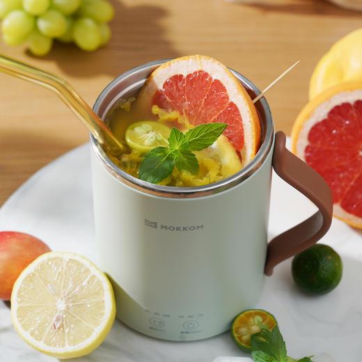 mokkom·多功能桌面养身杯 , 养身壶、水杯二合一,随时喝上一口温热水 商品图4