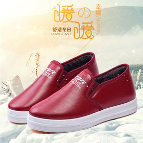 PDD-GSMXD201026新款韩版时尚气质百搭加绒加厚防滑软底棉鞋TZF