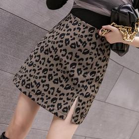 HT-GT-219-9295新款时尚气质百搭性感开叉包臀小短裙TZF
