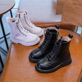 MQMY-TB358新款男女童潮流时尚气质加棉中筒马丁靴TZF