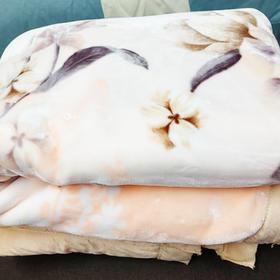 奢华双层毛毯大毛毯