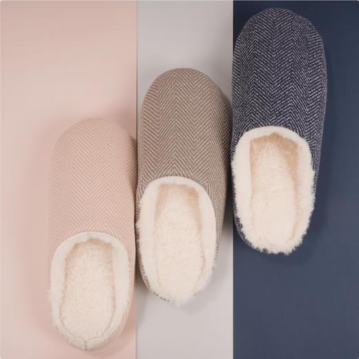 【云朵般脚感 踩进去就离不开了】一默暖暖乳胶拖鞋 呼吸感强 透气不闷 纯色设计 多色可选 商品图0