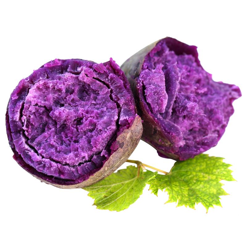 【山东 • 紫薯】营养粗粮 粉糯无丝 含天然花青素及多种矿物元素 氨基酸 维生素 商品图4