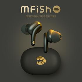 mfish黑鱼Tws真无线蓝牙耳机高通5.0双耳迷你运动入耳耳机