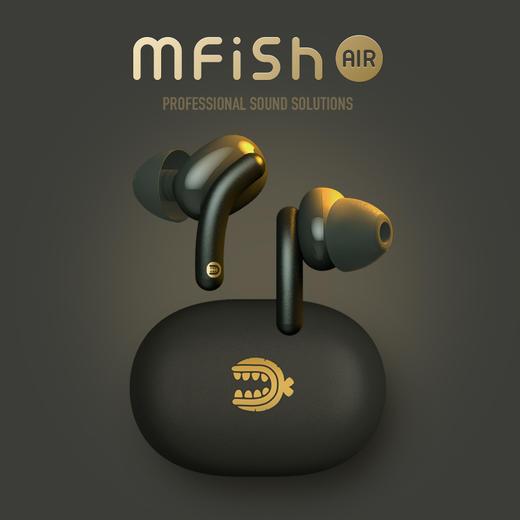 mfish黑鱼Tws真无线蓝牙耳机高通5.0双耳迷你运动入耳耳机 商品图0