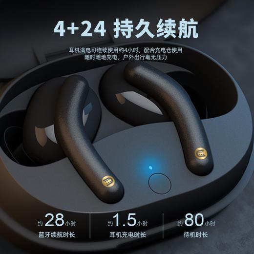 mfish黑鱼Tws真无线蓝牙耳机高通5.0双耳迷你运动入耳耳机 商品图6