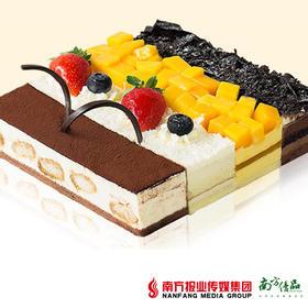 【部分地区包邮】熊猫不走 四大天王慕斯蛋糕3磅/个(48小时内发货)