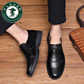 PDD-PLOVERCB201029新款男士头层牛皮软底休闲皮鞋TZF