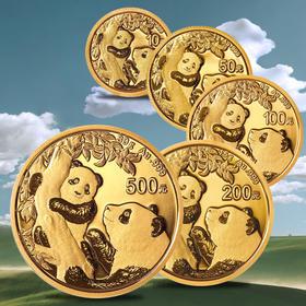 【全款预订】2021年熊猫金币套装(57克)