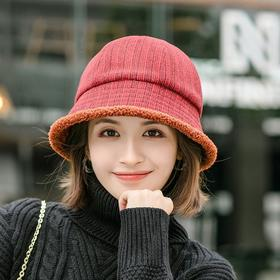 PDD-CBAEO201031新款潮流时尚百搭仿羊羔毛渔夫帽TZF