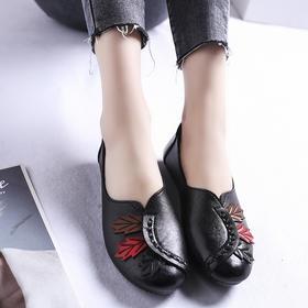 LN-C34新款优雅气质浅口平底单鞋TZF