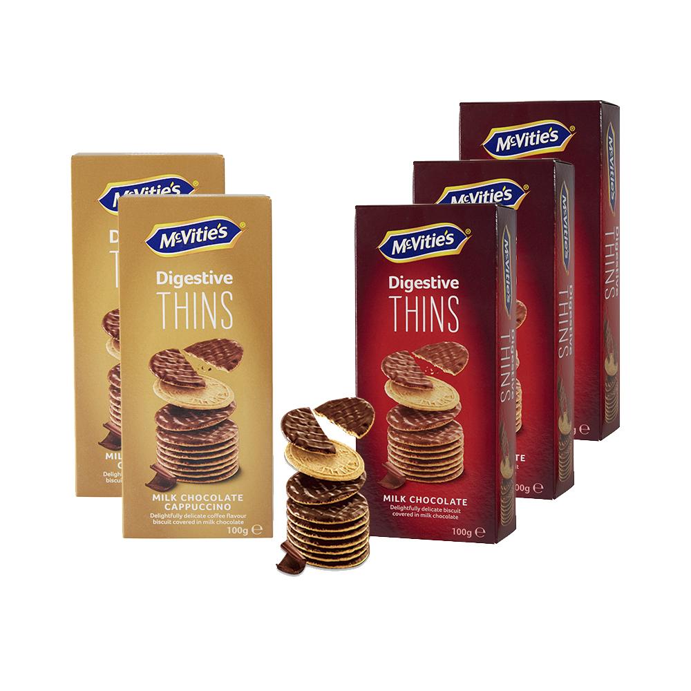麦维他巧克力薄脆100g*5包装 商品图0