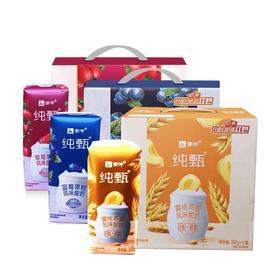 纯甄黄桃/红枣燕麦酸奶200g*10