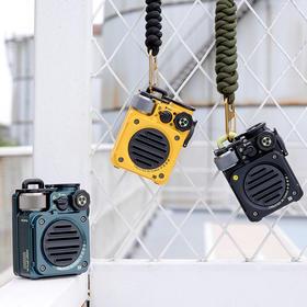 【潮玩新宠】猫王收音机·野性mini机能版|IPX5级防水|单手可控|6h+续航