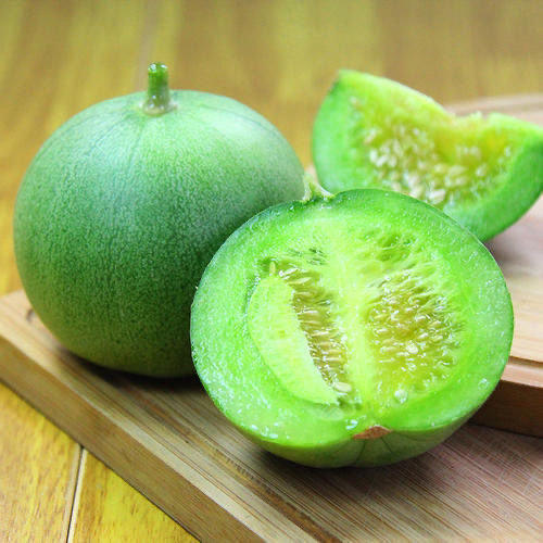 绿宝石甜瓜  现摘现发  顺丰包邮   果肉鲜甜香脆多汁 商品图2