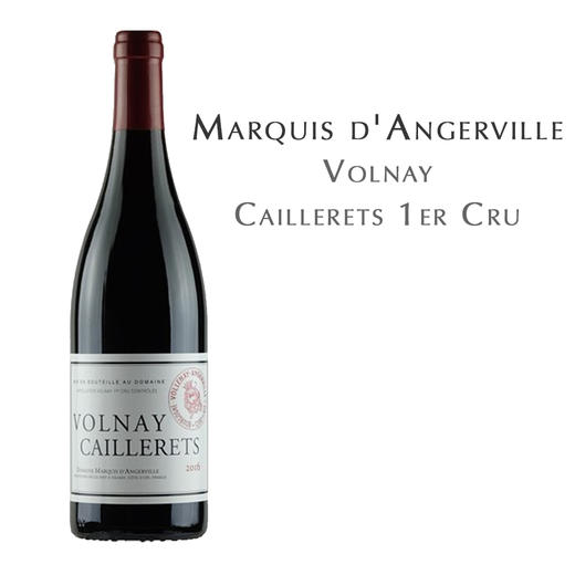 德安侯爵, 沃尔奈一级葡萄园AOC Marquis d'Angerville, Volnay Caillerets 1er Cru AOC 商品图0