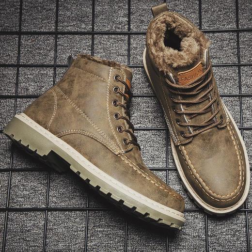 钛用武MD1022马丁靴(含加绒) 商品图3