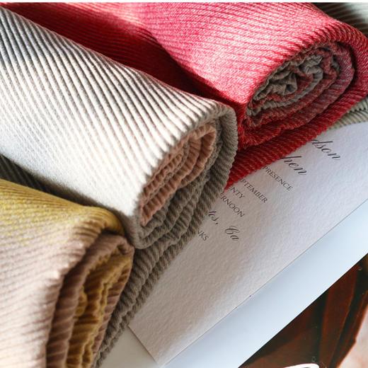 (品牌直发)ADALOOK渐变羊绒围巾(4色可选)秋冬款复古百搭 亲肤轻薄保暖(SG) 商品图2