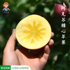 [阿克苏糖心苹果 ]清甜脆爽  果香浓郁  8斤装 | 基础商品