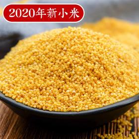 【为思礼】2020年新小米 陕北米脂小米 农家月子米 现磨现发 5斤装 | 基础商品