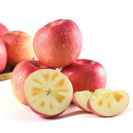 新疆阿克苏苹果 甘甜味厚 汁多无渣 皮薄肉厚 新鲜采摘 5斤 商品图3