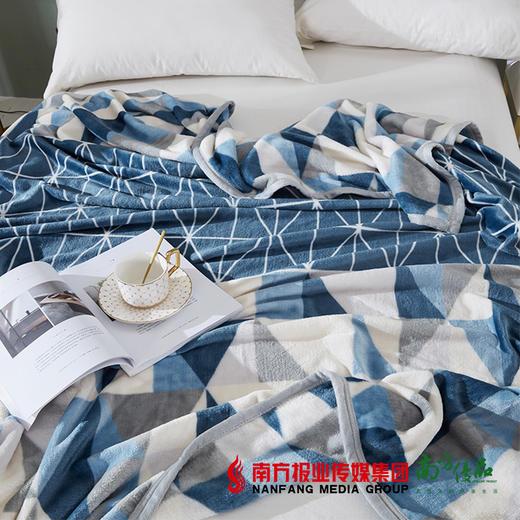 【全国包邮】梦洁美颂克莱格双面暖暖绒毯 商品图2