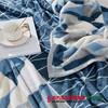 【全国包邮】梦洁美颂克莱格双面暖暖绒毯 商品缩略图1