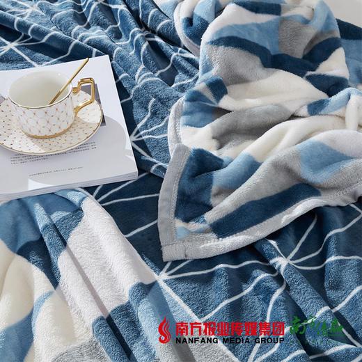 【全国包邮】梦洁美颂克莱格双面暖暖绒毯 商品图1