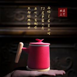 【30年老匠人传世之作】具有珍藏价值的国之美器——仙芽杯!非遗传承工艺,168小时72道严密工序!