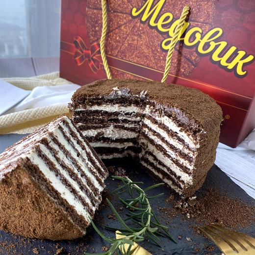 【进口版】俄罗斯进口版提拉米苏双山系列GKK蜂蜜奶油味多层蛋糕每个500g每个两种口味 商品图10