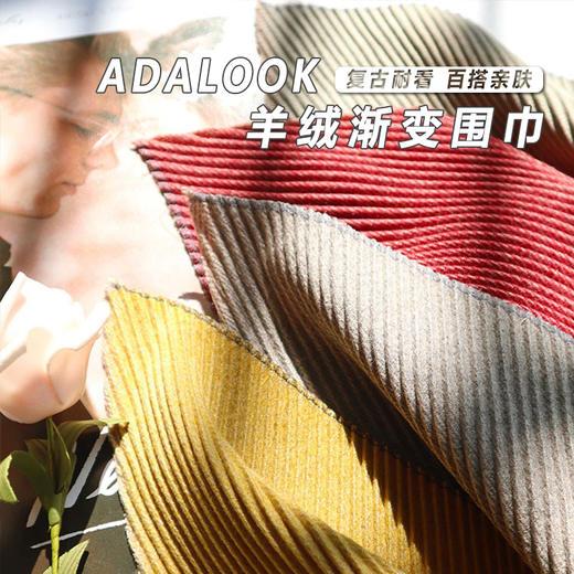 (品牌直发)ADALOOK渐变羊绒围巾(4色可选)秋冬款复古百搭 亲肤轻薄保暖(SG) 商品图0
