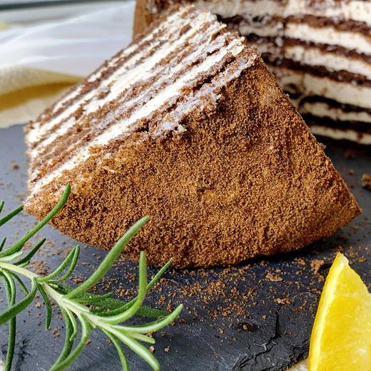 【进口版】俄罗斯进口版提拉米苏双山系列GKK蜂蜜奶油味多层蛋糕每个500g每个两种口味 商品图13