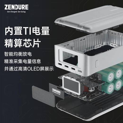 【可给两台笔记本同时充电】Zendure SuperTank Pro 26800mAh 充电宝  商品图3