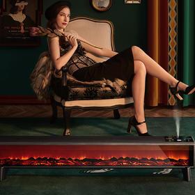 Westinghouse 西屋踢脚线取暖器 LED3D炭火视效 可加湿 负离子