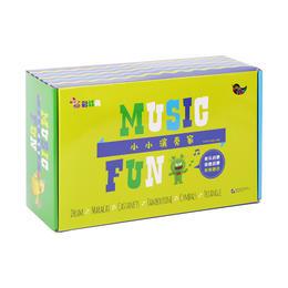 彩虹兔 Music Fun 平装加纸板加乐器 点读版 盒装