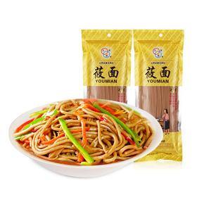 【筋道爽滑】三农恋速食免煮莜面面条150g*3