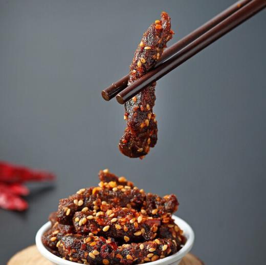 楼兰蜜语麻辣牛肉干100g/袋 商品图2