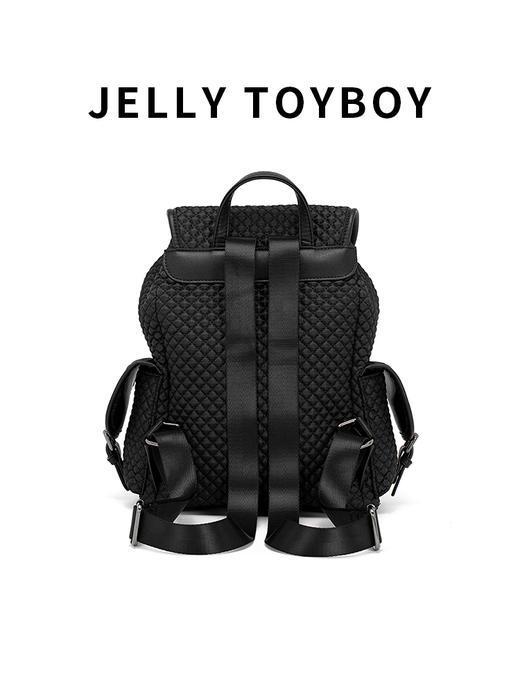 【徐杉专用】JTB包包女2020新款时尚百搭大容量格子双肩包菱格包旅游背包 商品图6