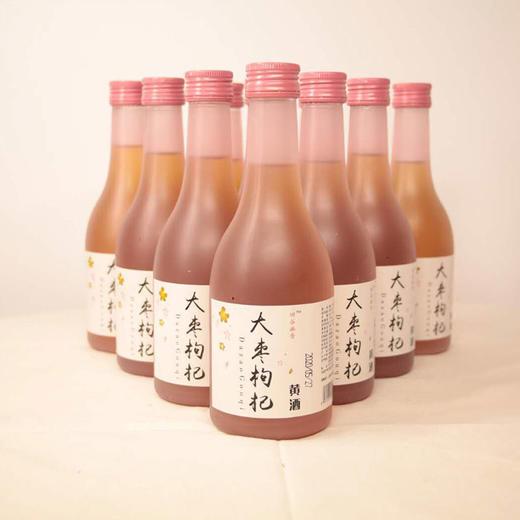 【房县黄酒】大枣枸杞黄酒310ml 商品图0