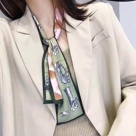 ZTZZP新款时尚百变飘带小丝巾TZF