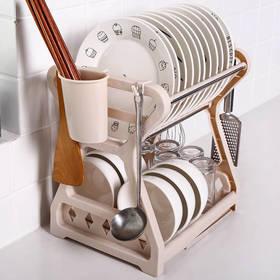 PDD-HHRY201123新款厨房多功能碗筷沥水置物架TZF