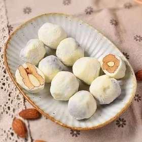 【半岛商城】爆款网红奶枣 外层满满的奶粉,中间甜甜的红枣 最里面是巴坦木,搭配着口感超好