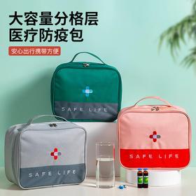 HFZ-QTK-0011新款家用便携式户外旅行应急药品大容量收纳包TZF